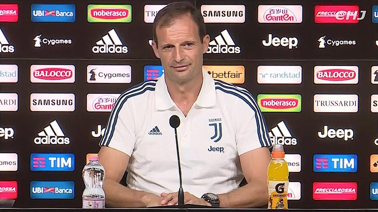 I commenti post partita di Allegri.
