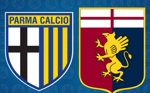 Parma Genoa. Le probabili formazioni delle squadre.