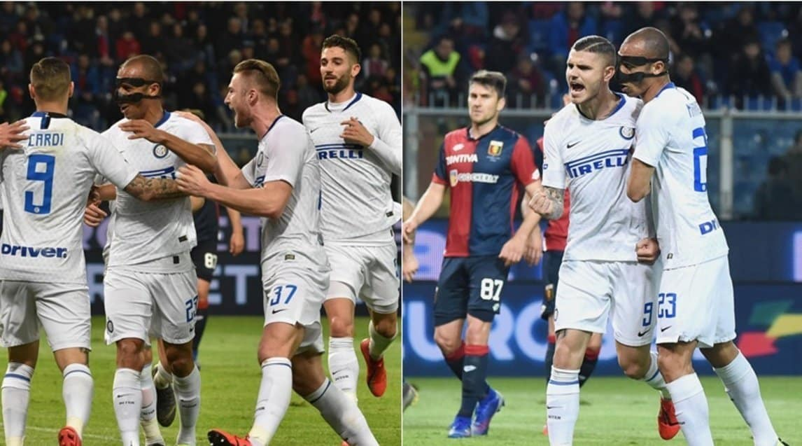 Genoa Inter 0-4. Icardi torna al gol, doppietta Gagliardini e...