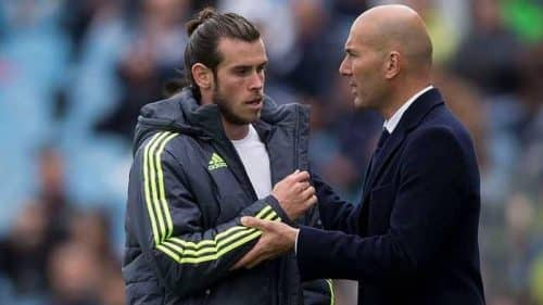 Real Madrid. Zidane annuncia l'addio di Bale.