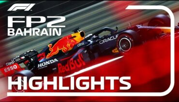 FP2 Highlights 2021 Bahrain Grand Prix