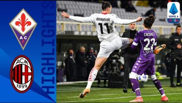 Highlights Fiorentina Milan